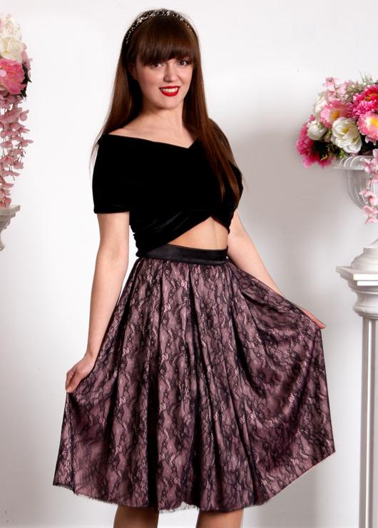 Кружевная юбка Джульетта