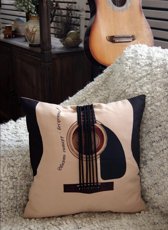 Подушка Гитара